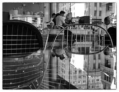 Queen Street reflections Auckland (kiwigran) Tags: auckland queenstreet cityreflections