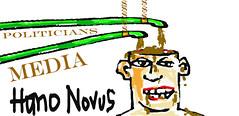 HOMO NOVUS (ARRRRT) Tags: media flickr politicians eatingshit universaltruth arrrrt homonovus politiciansandmedia