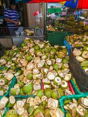 DSC_0331 (inkid) Tags: street travel fruits fruit coconut sony georgetown photograph malaysia penang dual coconuts premium kelapa z5 dato keramat pulaupinang xperia