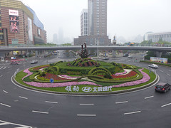 Roundabout in Lujiazui (Daniel Brennwald) Tags: china shanghai roundabout pudong lujiazui