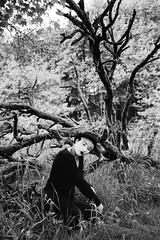 . (martinawoll ) Tags: she portrait blackandwhite woman girl female germany deutschland mask olympus melancholy frau pantomime emotive saarland maske saarbrcken melancholia melancholie schwarzweis panasonic20mm17 olympusomdem5