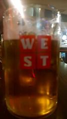 Pint of WEST, Slug and Lettuce County Hall, London (Secondcity) Tags: west london pint countyhall slugandlettuce