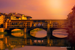 Digital Pastel Drawing of the Ponte Vecchio in Florence by Charles W. Bailey, Jr. (Charles W. Bailey, Jr., Digital Artist) Tags: bridge italy art photomanipulation photoshop river florence europe artist drawing pastel fineart digitalart visualarts pontevecchio topaz arnoriver pasteldrawing alienskin alienskinexposure taddeogaddi digitalartist topazlabs alienskinsoftware topazdetail topazclarity topazrestyle charleswbaileyjr topazimpression