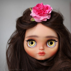 Gypsy Princess (KarolinFelix) Tags: ooak blythe brunette custom gypsy drusilla adg customblythe ashtondrake