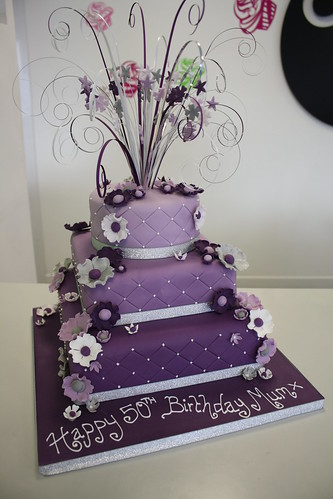Flickriver Photoset LILAC PURPLE THEME CAKES By CAKE Chester