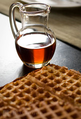 waffles (Lisa Ouellette) Tags: morning food breakfast morninglight warm maplesyrup waffles waffle sourdough winterfood