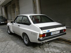 1978 Ford Escort RS 2000 (FiatTipoElite) Tags: ford 2000 1978 rs escort