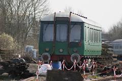 55009 DEREHAM 160307 (David Beardmore) Tags: br railcar britishrail britishrailways dmu mnr dieselmultipleunit midnorfolkrailway 55009 class122 grcw dmbs drivingmotorbrakesecond gloucesterrailwaycarriagewagoncompany