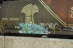 Arise (A & P Bench) Tags: train bench graffiti canadian graff railfan freight rollingstock fr8 benching