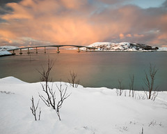 Sommaroy (peterspencer49) Tags: winter mountain snow seascape norway evening arctic seaview arcticcircle winterview stunningview seascene sommaroy 5dmkll peterspencer stunningseascape