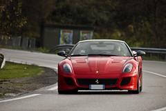 GTO (Spot-R28   Autospotters) Tags: canon de eos italia ferrari gran gto normandie notre dame tamron turismo rosso maranello corsa 76 v12 70300 500d 599 2011 téléthon gravenchon omologata 670cv
