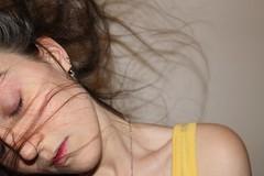 186.365 (kattra) Tags: selfportrait motion vancouver movement december apartment bodylanguage 365 hairflip