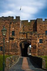 Carlisle Castle (Duda Arraes) Tags: england castle europe unitedkingdom cumbria fortification carlisle medievalage