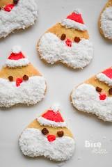 Santa cookies (BiteDelite.com) Tags: santa christmas cookies dessert cookie heart sweet noel klaus santaklaus santacookies santacookie