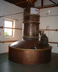 Bruichladdich Distillery, Ugly Betty Gin Still (Nigel_Brown) Tags: scotland still islay gin distillery 2010 stockphoto bruichladdich quickpic uglybetty nigelbrown