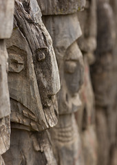 Konso wagas statues - Ethiopia (Eric Lafforgue) Tags: culture tribal tribes tradition tribe ethnic tribo ethnology tribu thiopien etiopia 7611 ethiopie etiopa  etiopija ethnie ethiopi  etiopien etipia  etiyopya