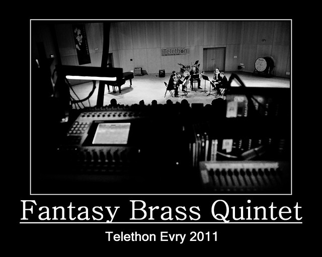 Evry Daily Photo - TELETHON Evry 2011 - Concert Fantasy Brass Quintet 7
