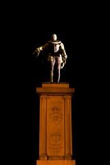 Statue at Night (alpinestranger) Tags: longexposure statue se sweden karlstad nighttime eurotrip 2011 sigma1020mmf35exdchsm