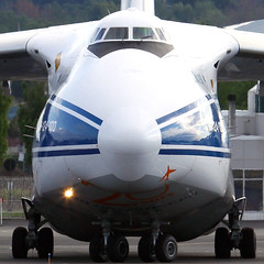 My; What A Large Nose You Have... (planephotoman) Tags: pdx condor ruslan antonov russianfederation an124 volgadnepr portlandinternationalairport pdxaircraft an124100 heavycargo ra82074 pdxcargoops outsizedcargo exploredec92011259