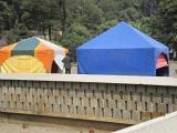 Tents at Addis Ababa City Hall