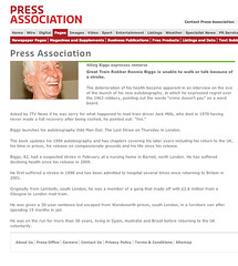 Press Association (Ronnie Biggs The Album) Tags: ronnie biggs greattrainrobbery oddmanout ronniebiggs ronaldbiggs