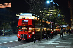 RM2116 Blackfriars Road at night (John A King) Tags: christmas bus buses night dark lights tour explore blackfriarsroad rm2116