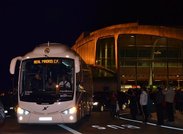 Sale el Bus del aeropuerto!