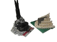 The wonders of Middle-Earth (TMM) Tags: minas lego lord lotr rings dur mordor tirith gondor barad