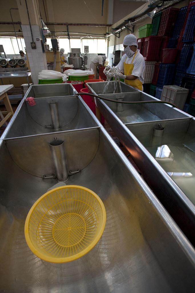 Fabrique confiture CEPICAFE - Bacs de nettoyage