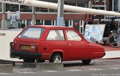 Reliant Rialto GLS 1986 (Wouter Bregman) Tags: auto old uk classic haarlem netherlands car vintage automobile nederland voiture british 1986 paysbas rialto gls ancienne brits reliant anglaise