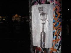 CCTV (duncan) Tags: streetart london pasteup poster graffiti cctv southbank