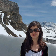 Samantha standing on the snowy edge of the High Alpine road (Bn) Tags: auto road park sun mountain snow alps salzburg classic tourism ice nature car geotagged austria oostenrijk back sterreich high heaven driving tour altitude famous curves bikes haus downhill cliffs harley glacier route riding alpine national massive toll harleydavidson motorcycle motor winding brochure davidson pleasure 48 hairpin bikers riders hohe highest kilometers gletsjer pasterze tauern motorists vtwins edelweisspitze grosglockner kaiserfranzjosefshhe hochalpenstrase grosglocknerhochalpenstrase naturschau 29eur geo:lon=12819393 geo:lat=47066738