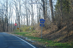 DSC_0143 (I.C. Ligget) Tags: road park county new york signs sign john scotland traffic state route signals albany shield salem boyd signal 85 shields 156 85a 157 thacher a voorheesville