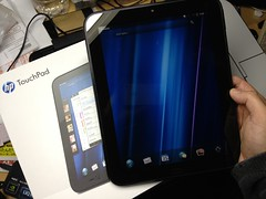 I got a HP TouchPad.
