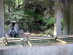 Nikko 日光 - Rin-no-ji Taiyuin Temple 輪王寺大猷院 - Fountain 泉