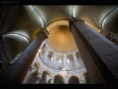 Baptistry (Pisa) (J.M.Fransen (jero 053)) Tags: italy canon photography photo italian europe culture pisa canon5d cinematic tones lightroom babtistry lightfall