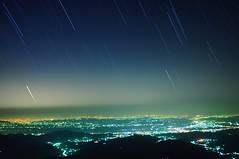 Night of Taichung City  (Vincent_Ting) Tags: sky clouds taiwan  senset    rollinfarm   taichung