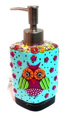 soap dispenser (**mira pinki krispil-colors of life ***) Tags: art soap dispenser handmade fimo clay pinki lotion polymer mirakris