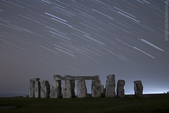 From Afar (AndWhyNot) Tags: uk longexposure light rock night stars haze ancient stones landmark pollution stonehenge astronomy wiltshire pembrokeshire startrails darksky lightpollution stargazing druids englishheritage bluestones 4786