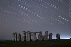 From Afar (AndWhyNot) Tags: uk longexposure light rock night stars haze ancient stones landmark pollution stonehenge astronomy wiltshire pembrokeshire startrails darksky lightpollution stargazing druids englishheritage bluestones 4786