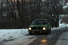 (Nico86*) Tags: mountain snow rabbit vw golf volkswagen 1977 mk1