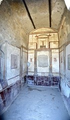 Pompeii Archaeological Space: house decoration stitch (SpirosK photography) Tags: italy panorama heritage painting ancient italia stitch roman decoration pompeii pompei ancientroman ιταλία πομπηία αρχαιολογικόσχώροσ microsoftice archeologicalspace archaeologicalspace