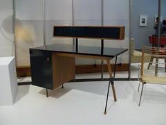 Greta Magnusson Grossman: Desk (with storage unit) 1952