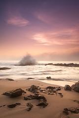 sunset spray (Eric C Bryan) Tags: ocean sunset sea beach nikon waves southerncalifornia orangecounty d700 ericbryan singhrayfilters leegndfilters ericbryanphotography wwwericbryannet ericcbryan ericbryannet