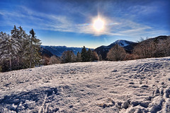 Bright Winter [Explore] (neimon2 (too busy, sorry for my temporary silence)) Tags: winter italy mountain snow alps ice nature explore hdr prealpi presolana explored orobiche orobic neimon2