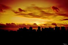 Sunset (CANPERS MEDIA) Tags: city sunset red sky cloud sun toronto ontario canada sunrise buildings عکسهای عکس غروب ساختمان مه شهر آفتاب ابر آسمان خورشید هوا
