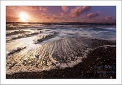 Shine (Sean Reidy Photography) Tags: ireland sun seascape clouds landscape coast clare wave pebbles shore foam seanreidy liveforphotos