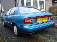 1992 Hyundai Lantra (GoldScotland71) Tags: 1992 hyundai 1990s lantra k395ams