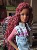 last reroot victim (Alrunia) Tags: dreadlocks toy doll handmade ooak barbie skipper yarn guide dreads fashiondoll mattel tutorial reroot restyle 16thscale playscale teenskipper yarnreroot