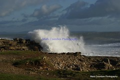 DSC00538 (Mark Coombes Photography) Tags: sea portland waves dorset rough